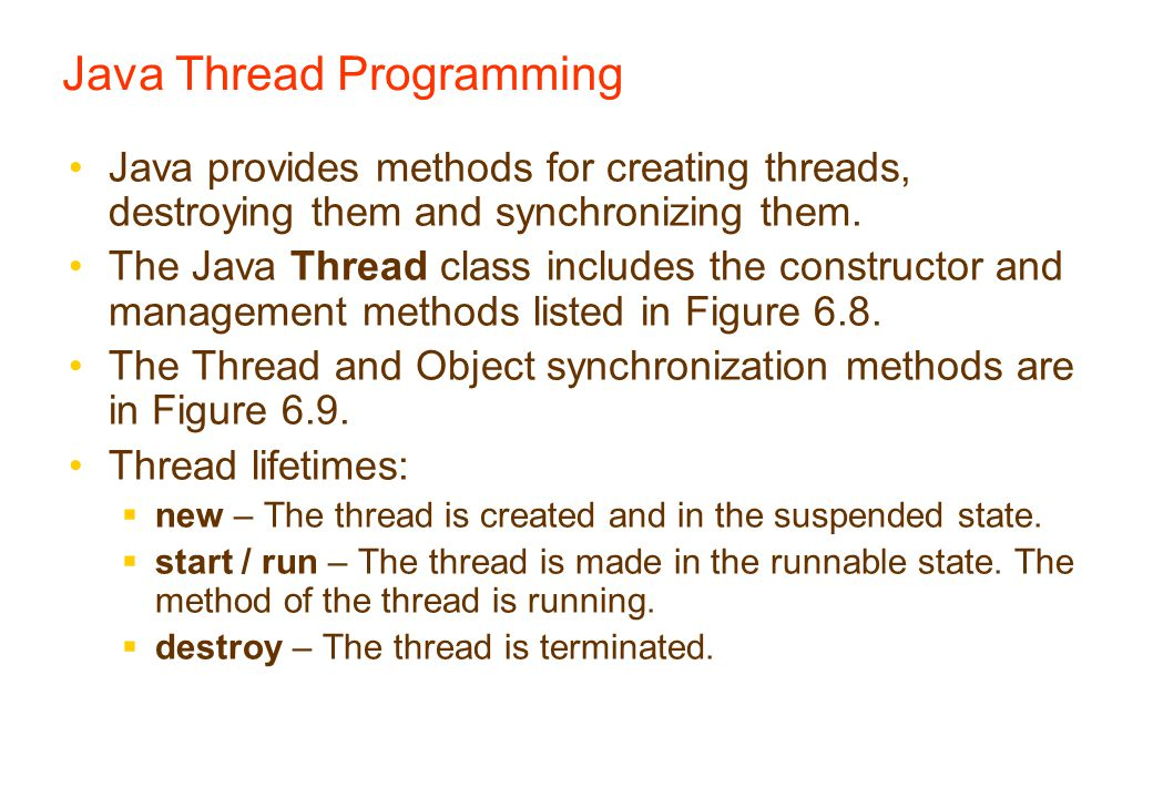 How to Create a Thread in JavaThread class offer