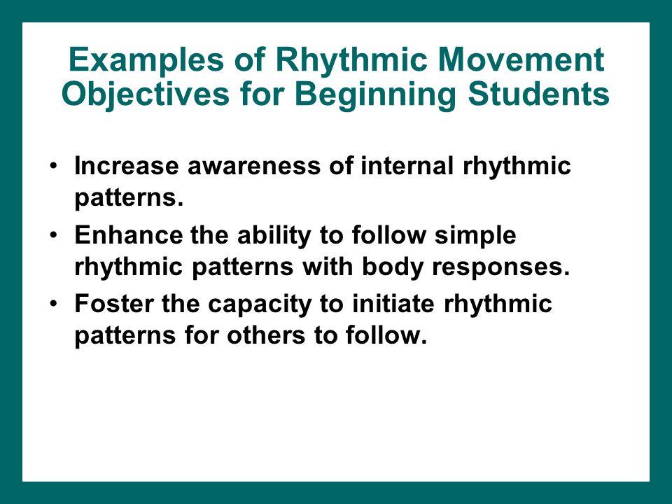 Categories of rhythmic activities video & lesson transcript.