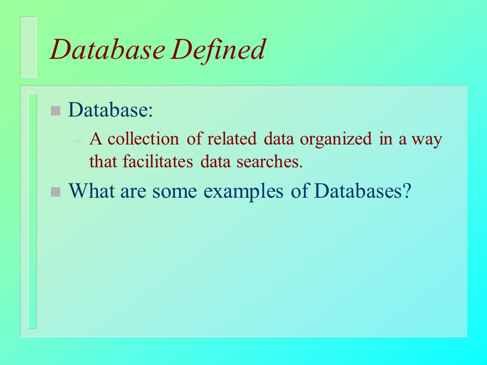 Database Management An Introduction Ppt Download