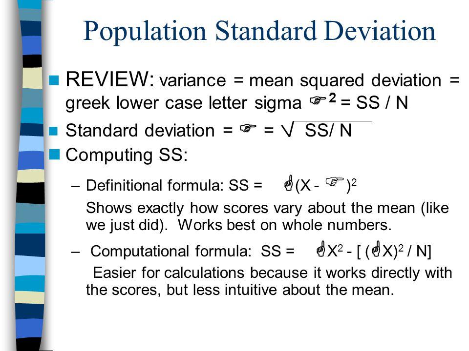 Variability Standard Deviation Ppt Download