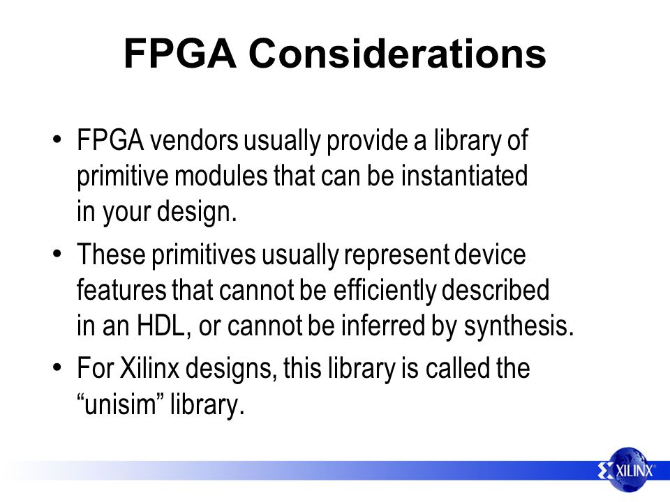 EE178 Lecture Intro to Verilog for use with FPGAs - ppt download