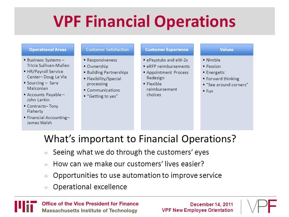Vpf New Employee Orientation Ppt Download