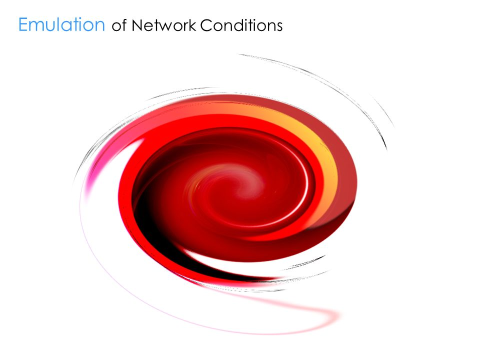 Emulation of Network Conditions