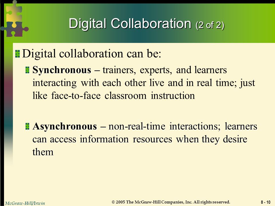 Digital Collaboration (2 of 2)