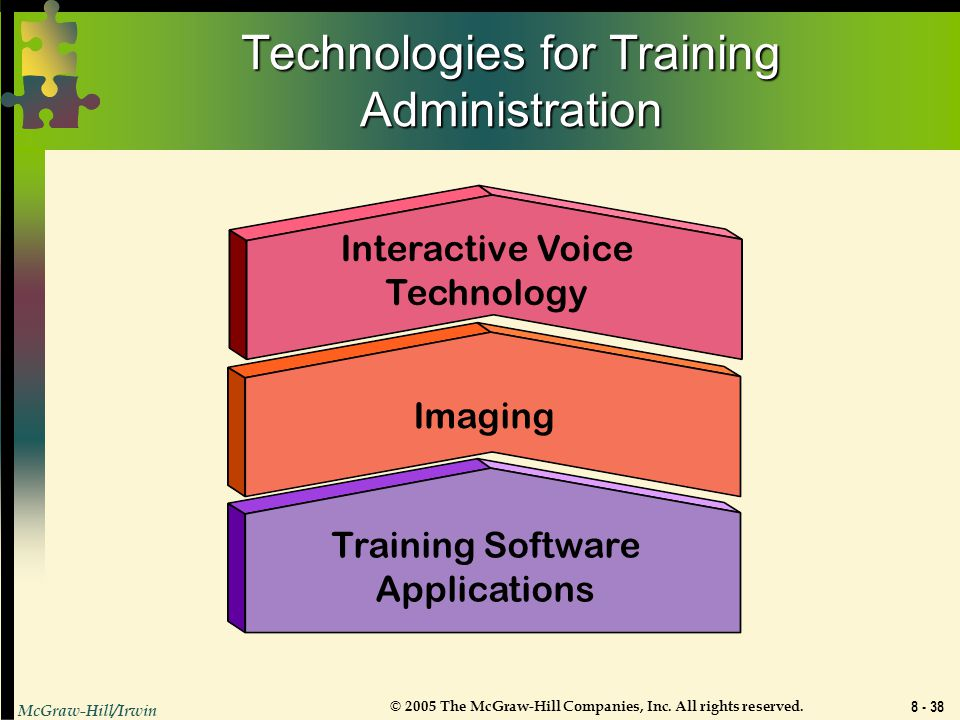 Technologies for Training Administration