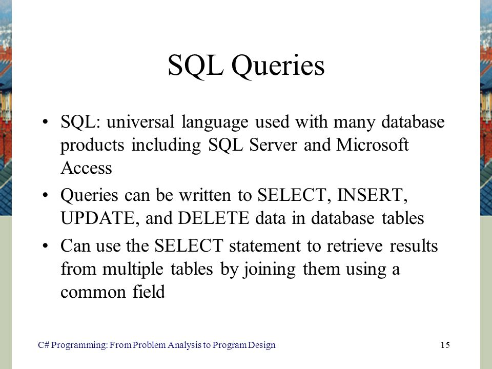 Database Access Using ADO NET - ppt download