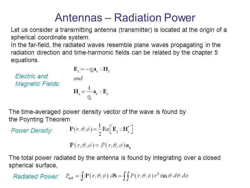 Antennas Radiated Power Radiation Pattern Beamwidth - ppt