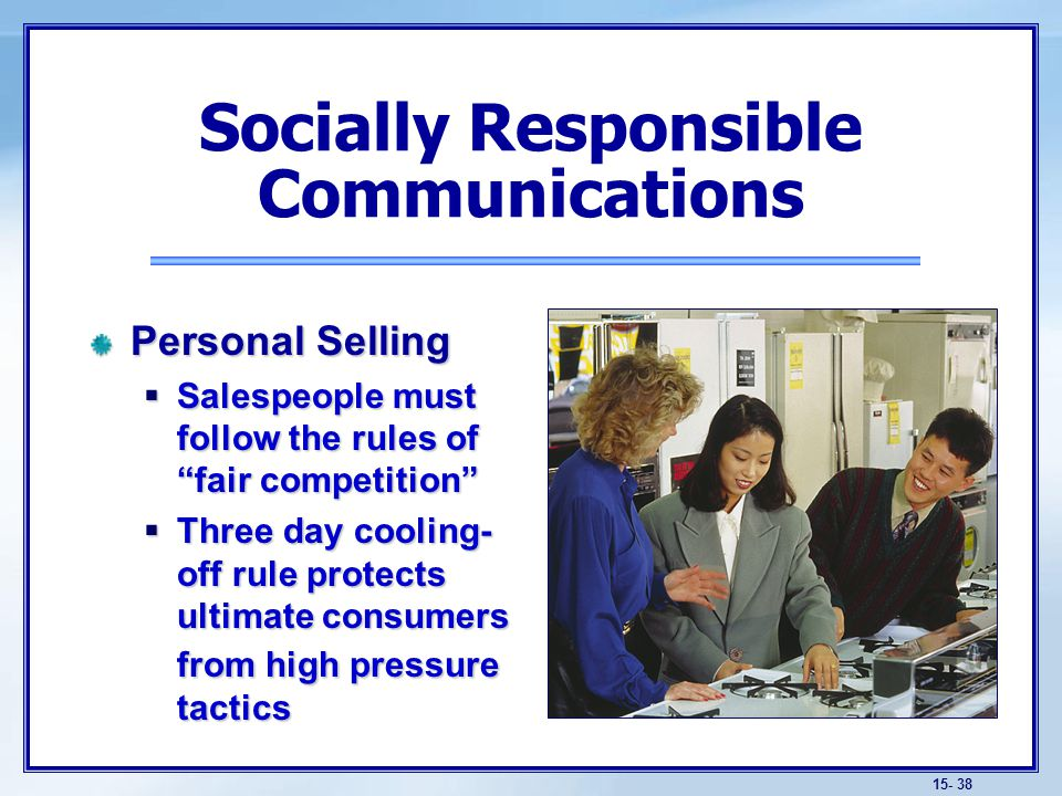 Socially Responsible Communications
