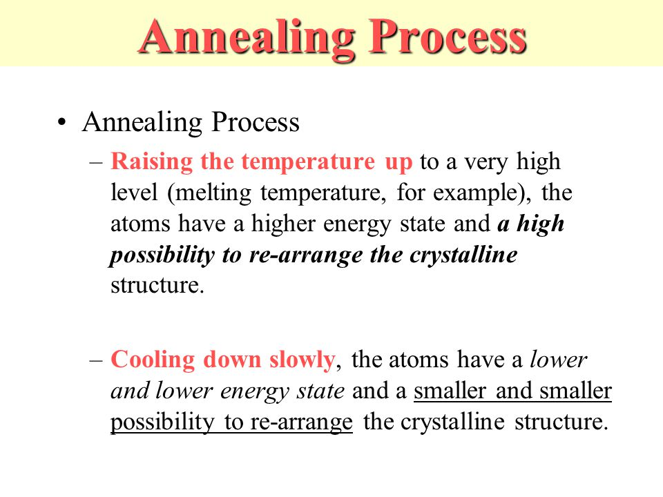 how to start temperature in simulated annealing