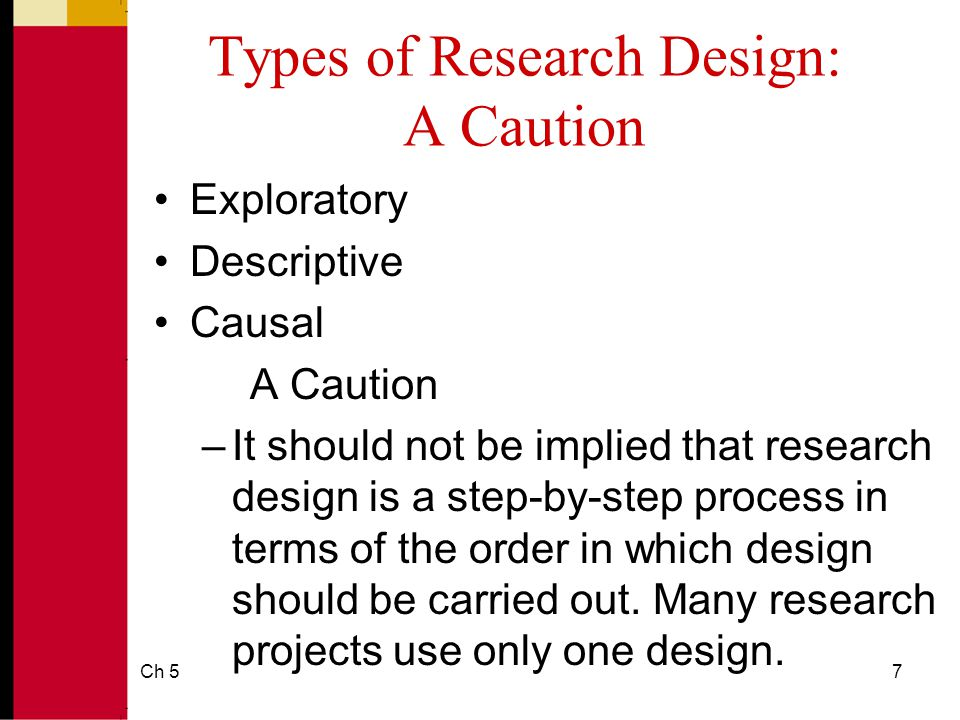 how many types of research