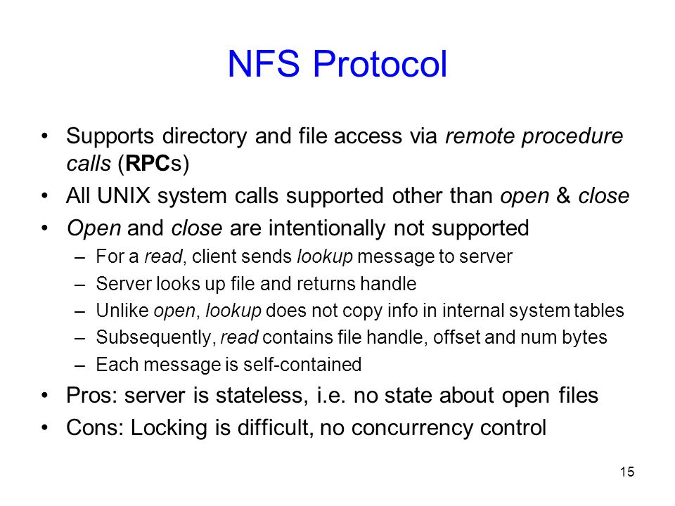 Distributed File Systems: RPC, NFS, and AFS - ppt video