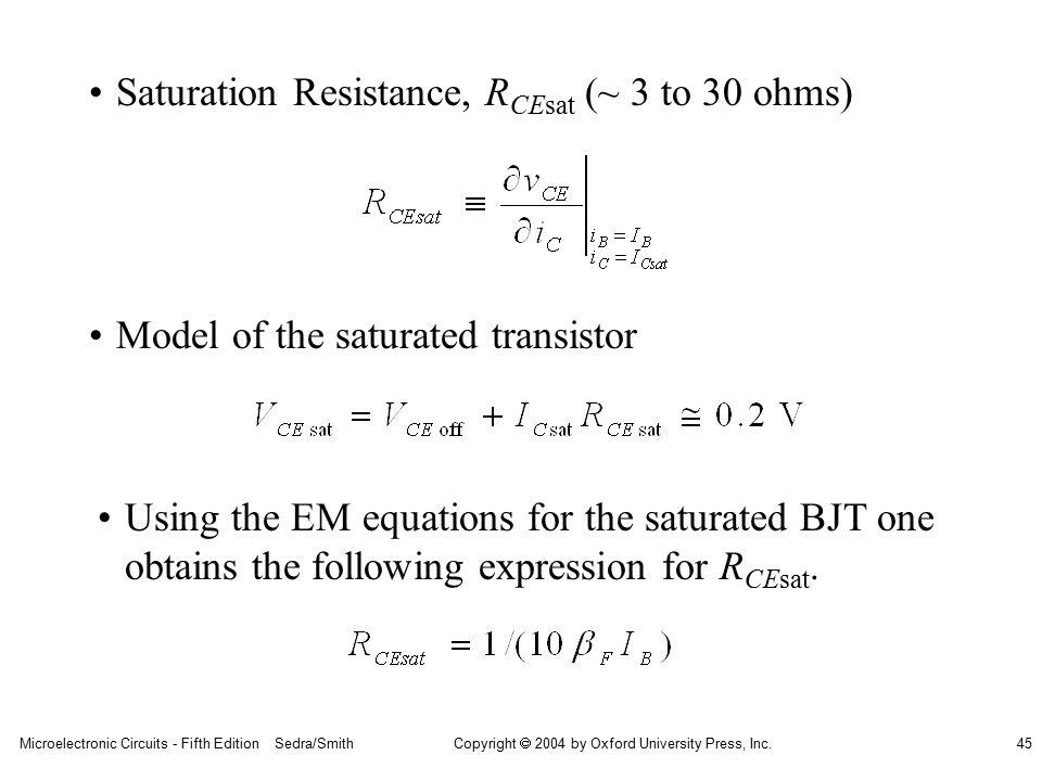 microelectronics by sedra and smith 7e pdf