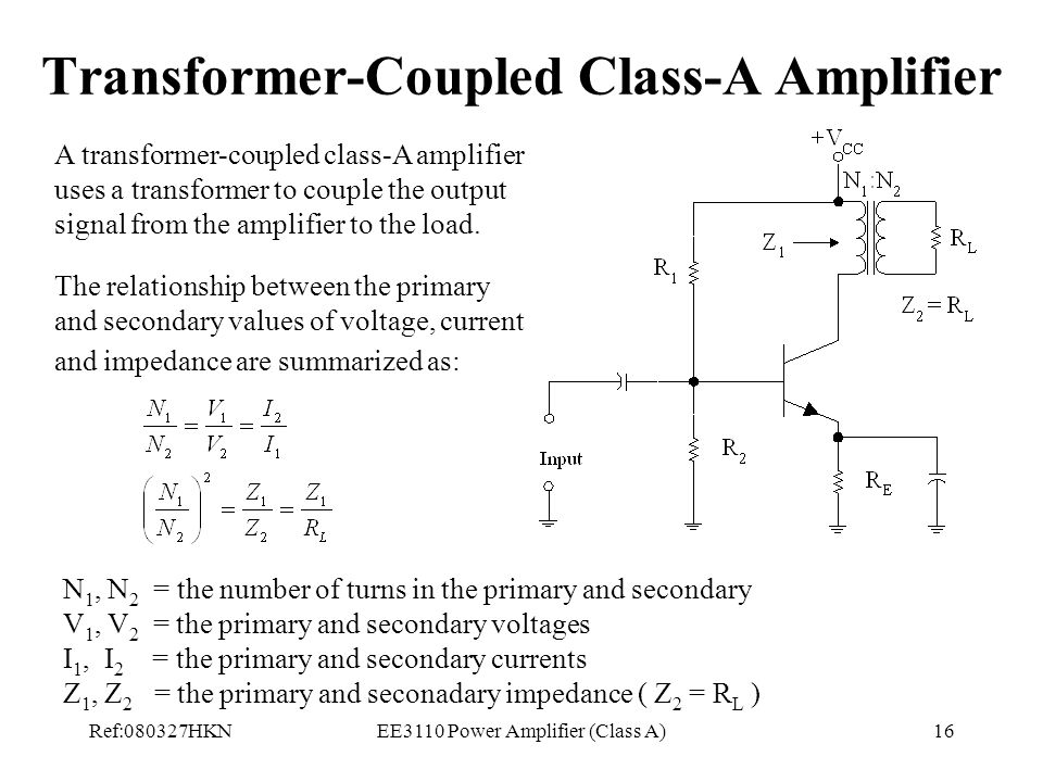 Lecture 8 Power Amplifier (Class A) - ppt video online download