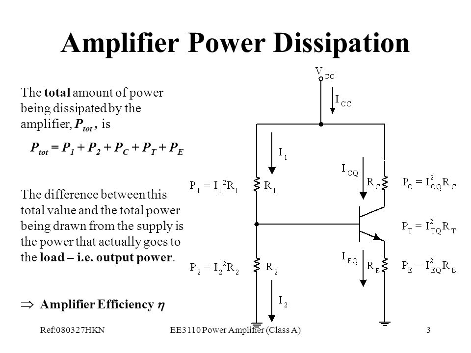 lecture 8 power amplifier class a ppt video online download. Black Bedroom Furniture Sets. Home Design Ideas