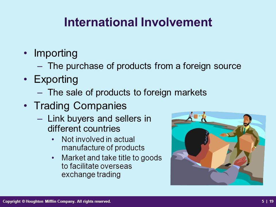 International Involvement