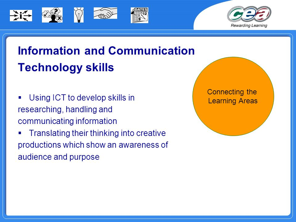 Information and Communication Technology skills