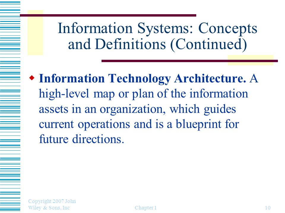 Pertemuan 02 chapter 01 information system concepts and information systems concepts and definitions continued malvernweather Choice Image