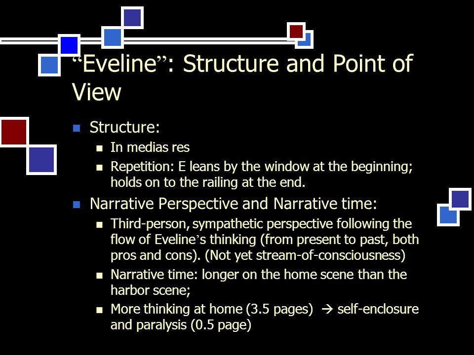 eveline point of view
