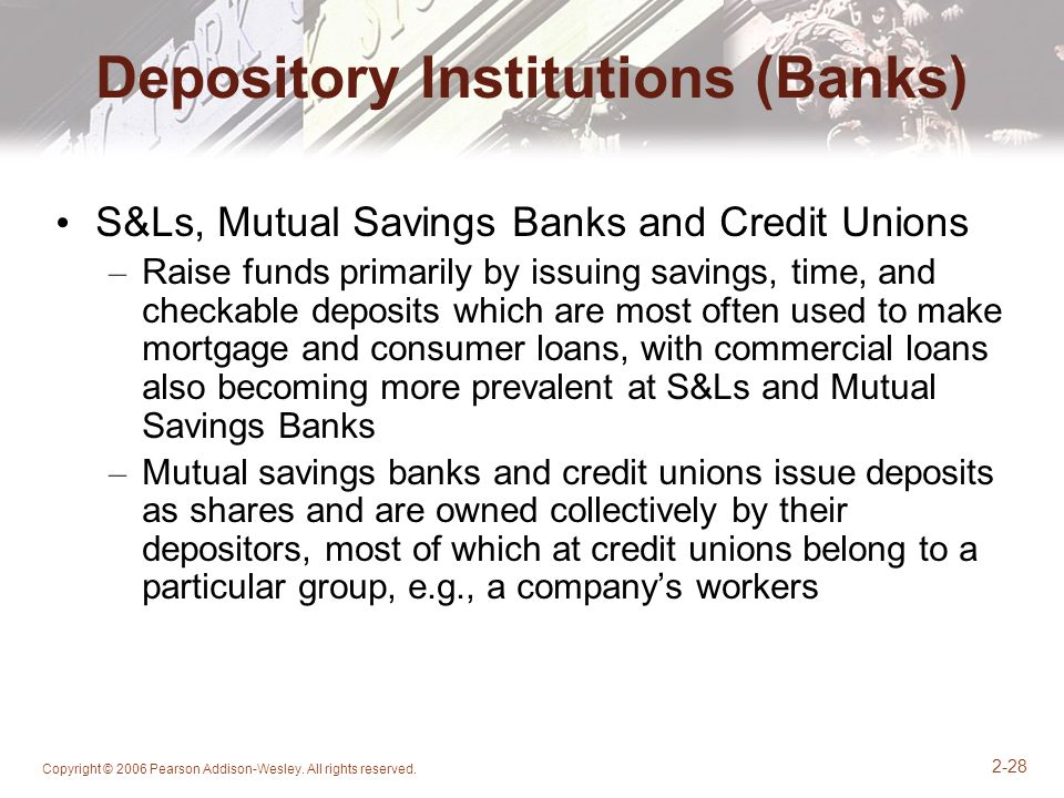 Depository Institutions (Banks)