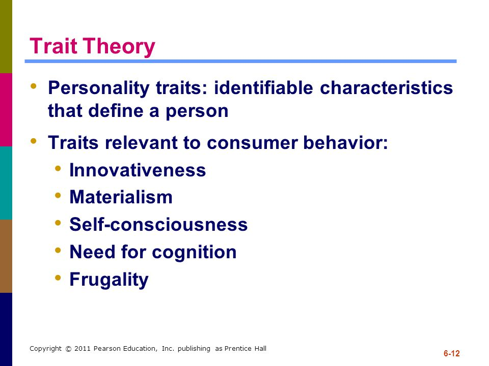 personality in consumer behaviour