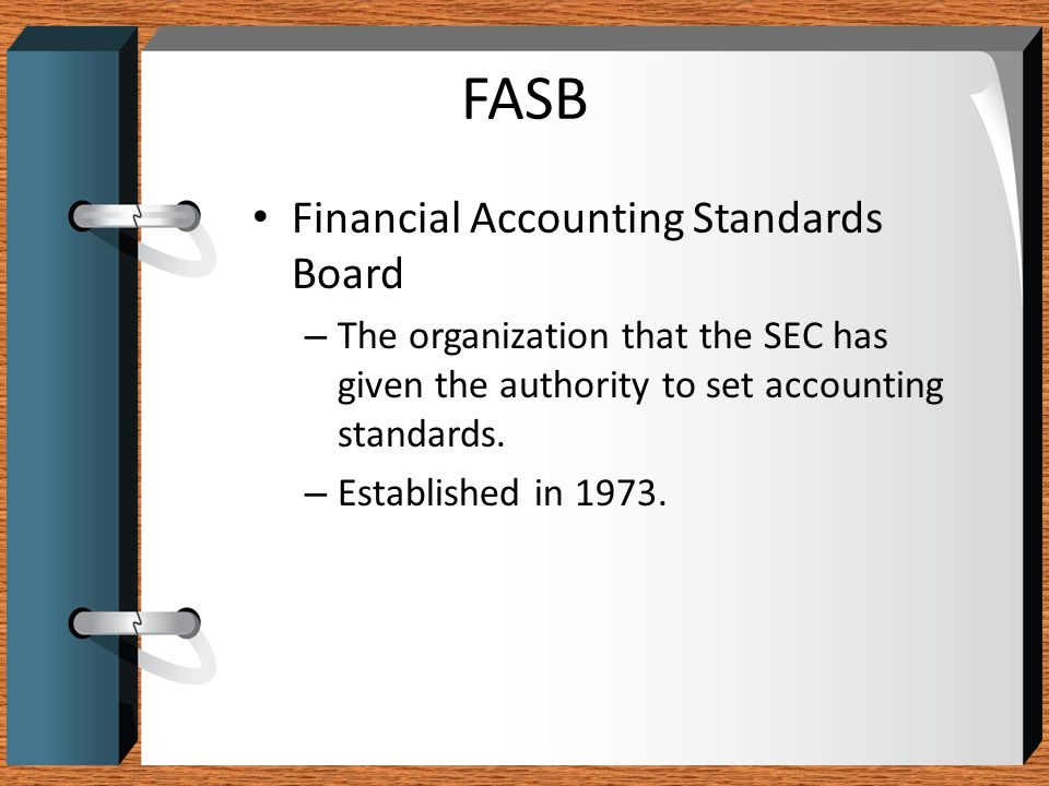 FASB Financial Accounting Standards Board
