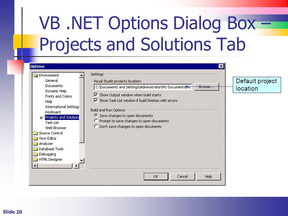 Getting Started with VB  NET - ppt video online download