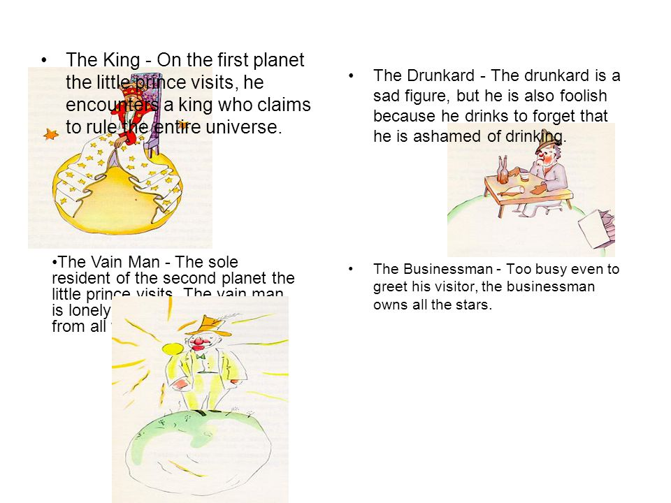 fully describe the appearance of the little prince