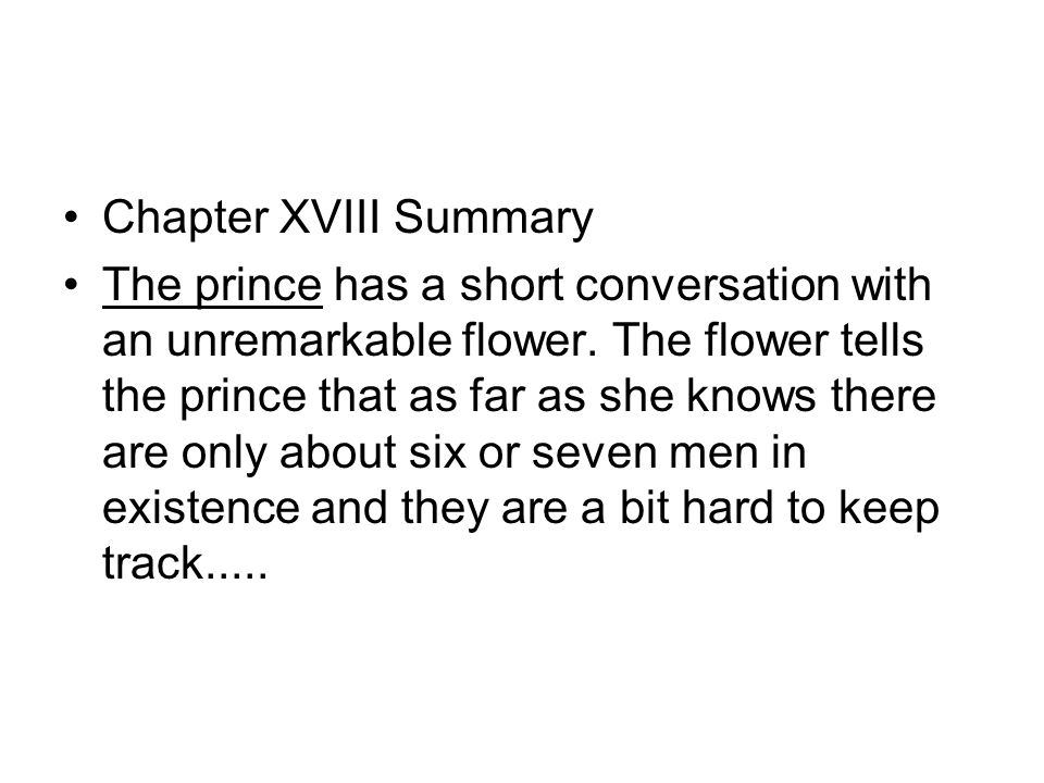 the prince short summary