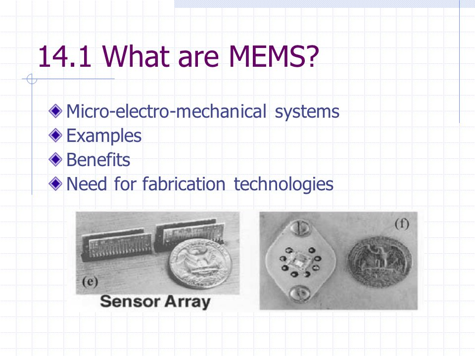 MICRO ELECTRO MECHANICAL SYSTEMS PDF DOWNLOAD
