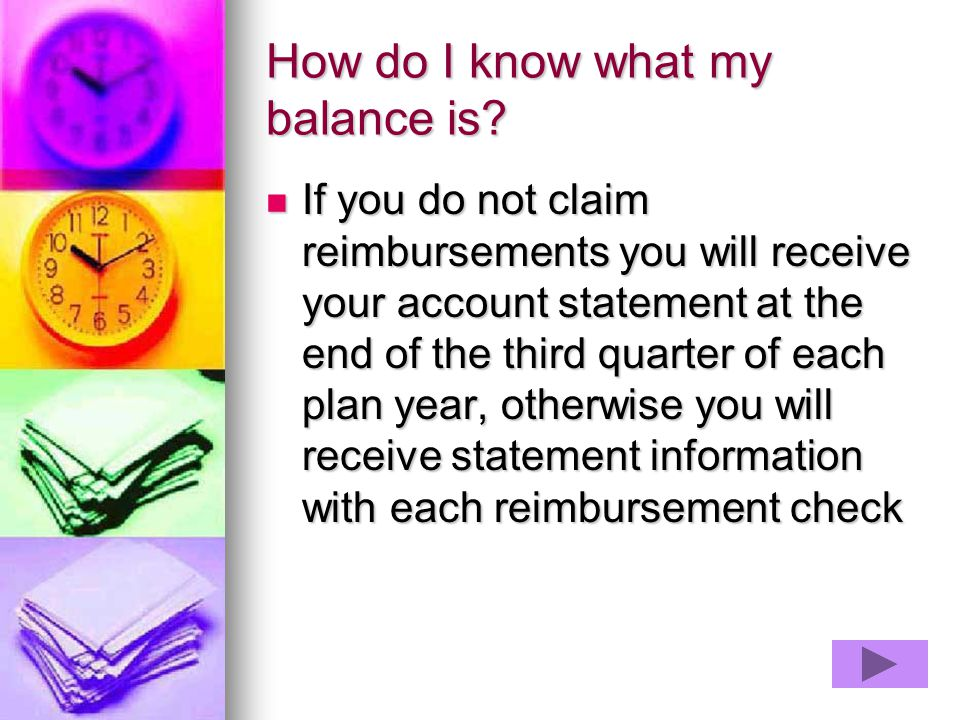 How do I know what my balance is