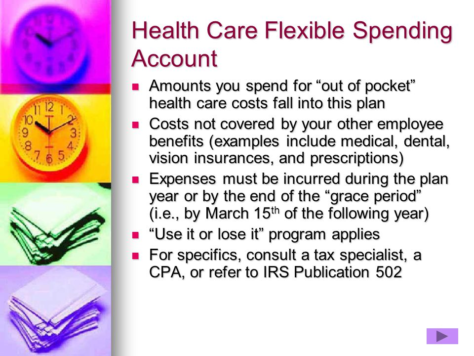 Health Care Flexible Spending Account