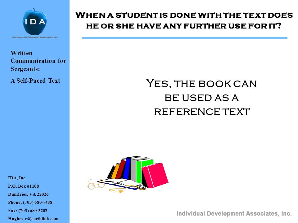 Yes, the book can be used as a reference text