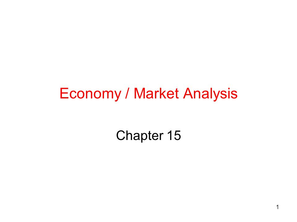 Economy / Market Analysis