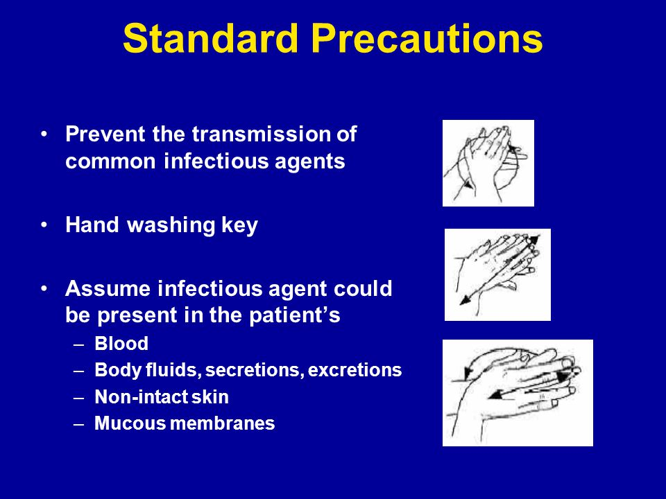 principles of infection control and personal protective