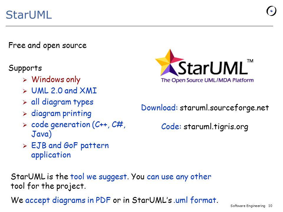 UML CASE Tools - StarUML - - ppt video online download