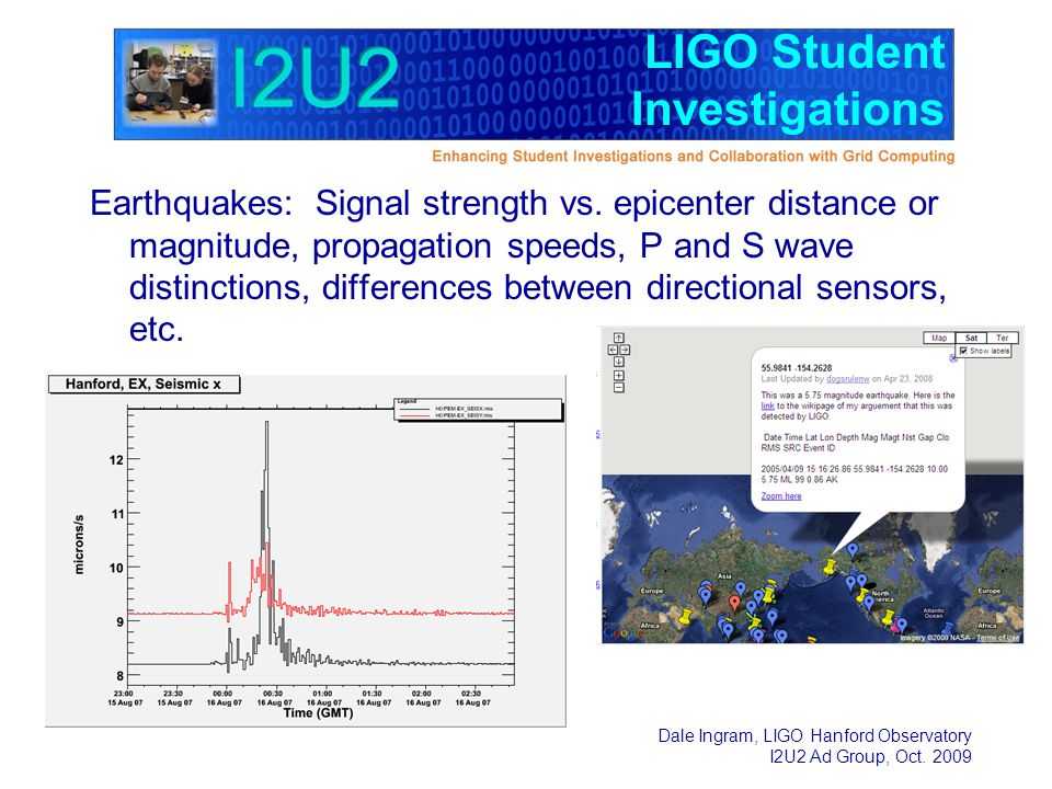 LIGO Student Investigations - ppt download