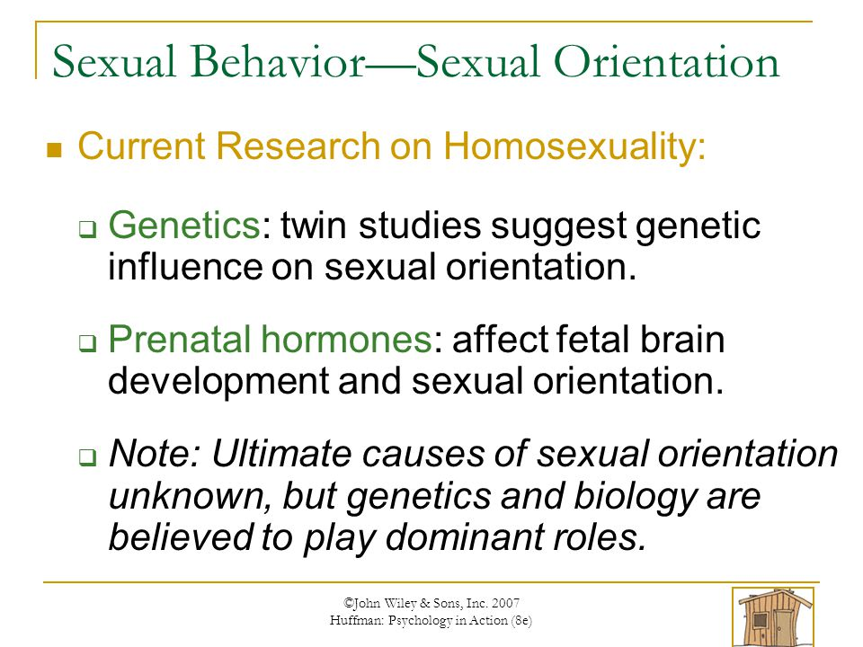 Behavioural genetics twin studies on sexual orientation