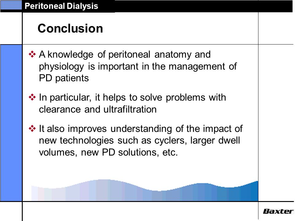 Anatomy and Physiology of Peritoneal Dialysis - ppt video online ...