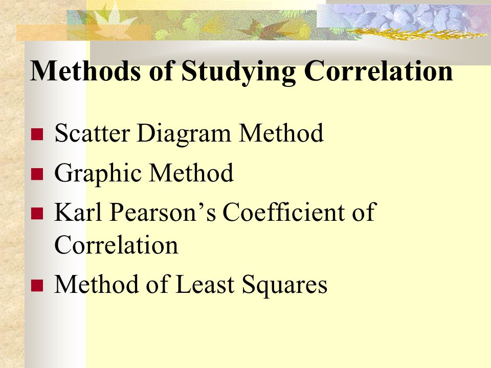 Correlation Ppt Video Online Download