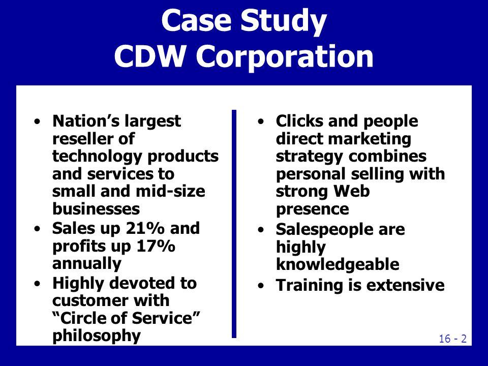 sales force management case study