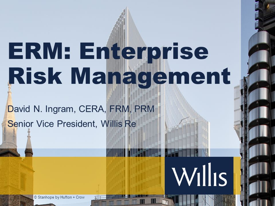 ERM: Enterprise Risk Management