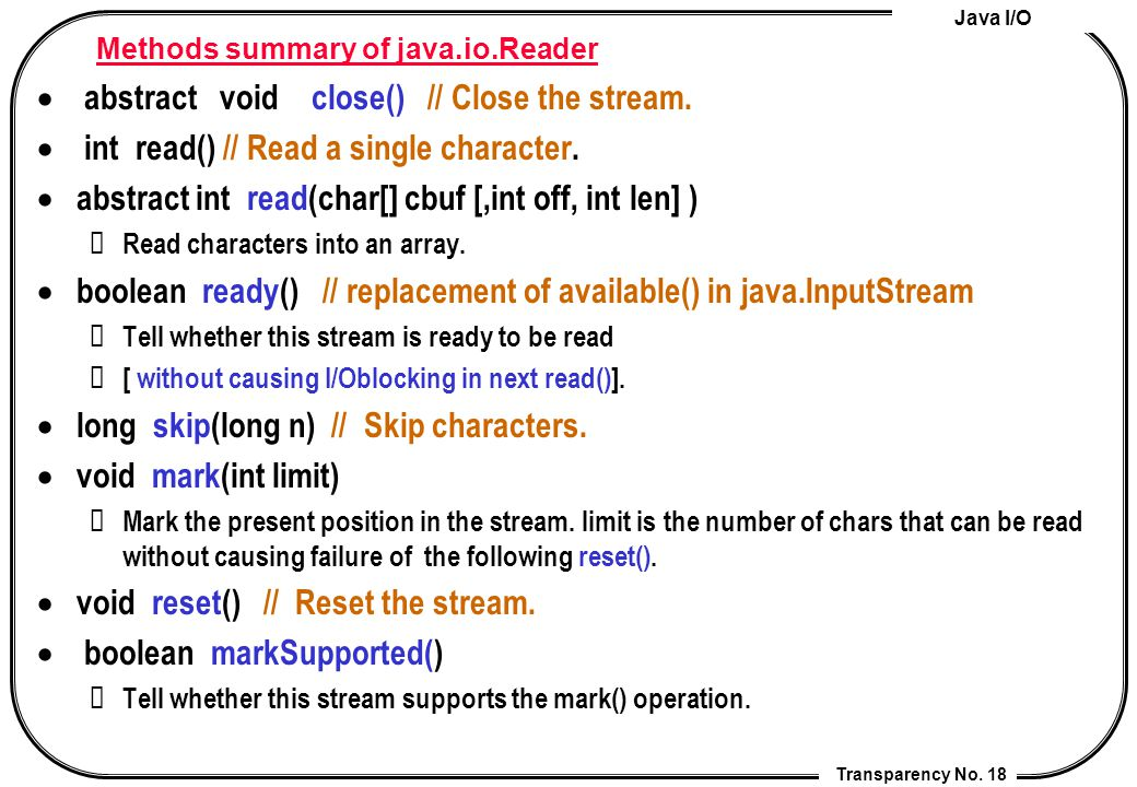 Lecture 6  Java I/O Cheng-Chia Chen  - ppt download