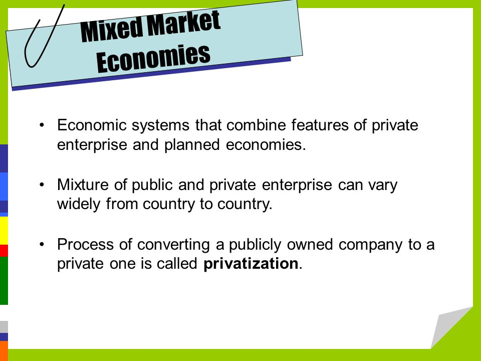 Mixed Market Economies
