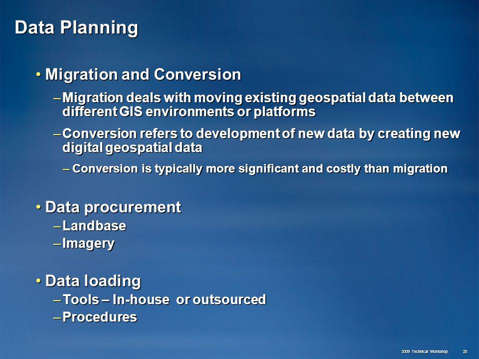 Planning: Enterprise Geodatabase Solutions - ppt video