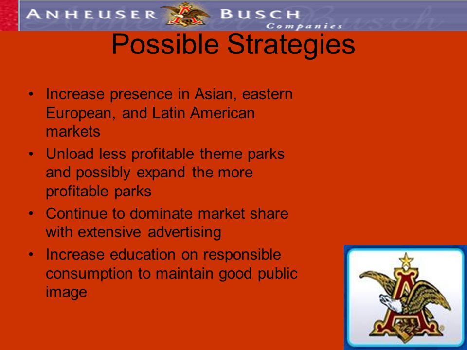 anheuser busch marketing strategy