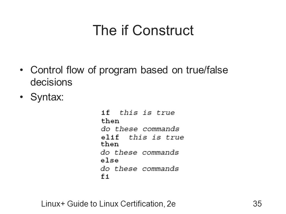 Linux Guide To Linux Certification Second Edition Ppt Download