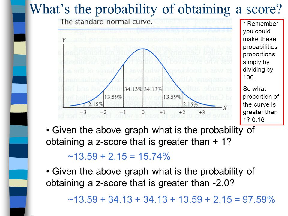 Z - Scores and Probability - ppt video online download