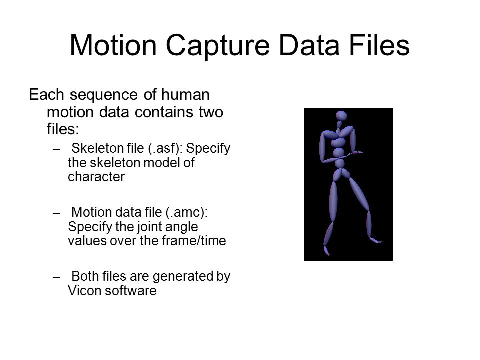 CSCE 441 Computer Graphics: Animation with Motion Capture - ppt