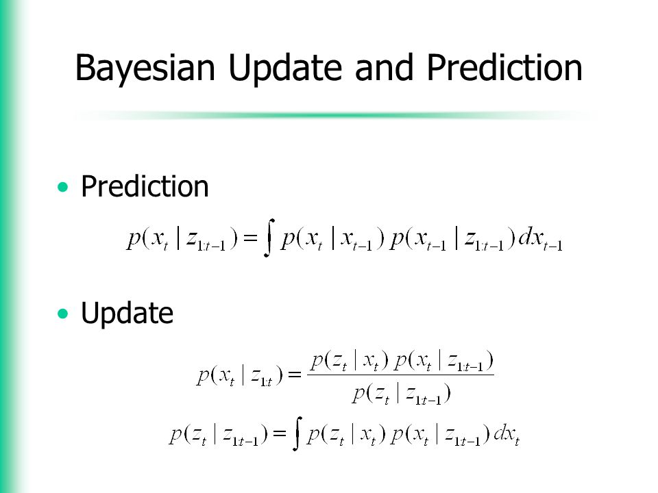 Bayesian Update and Prediction