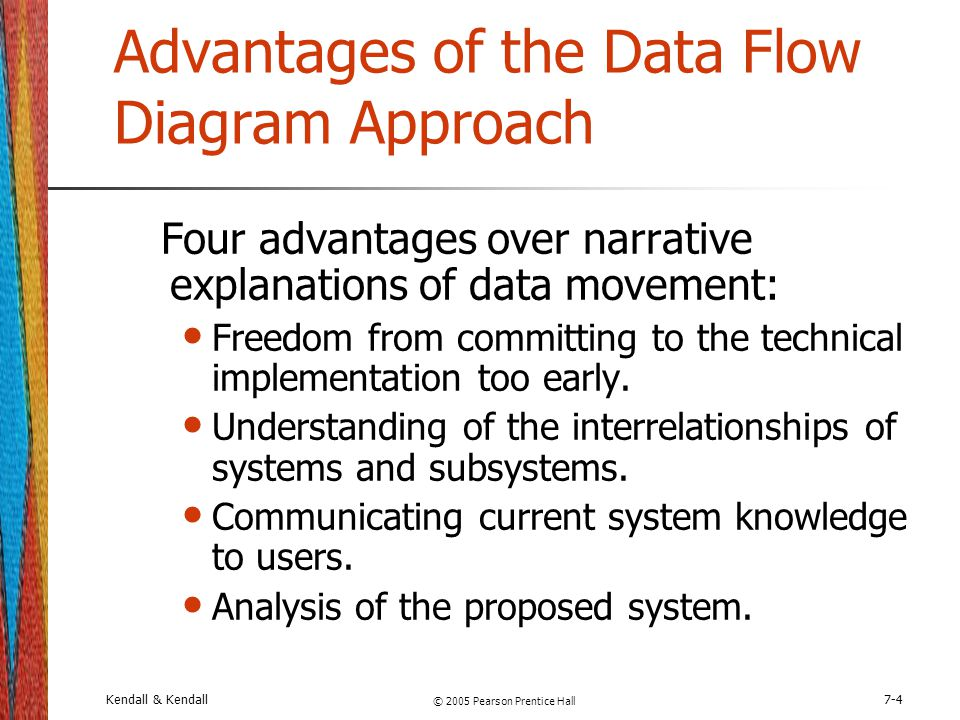 Advantages of the Data Flow Diagram Approach